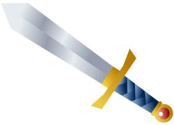 武器のイラスト
