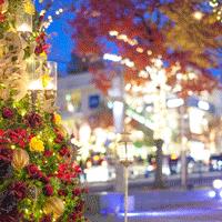 クリスマスのデートは東京で