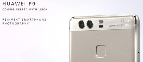 Huawei P9の日本発売日や価格は?スペックについてもtop画像