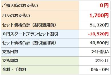フリーテル 「ダブル0円スタートプラン」キャンペーンKiwami料金