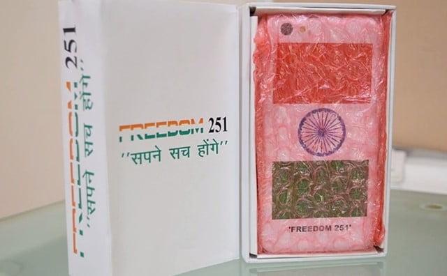 約400円!超格安なスマホ「Freedom 251」インドで6/30出荷開始!日本でも買える?パッケージ