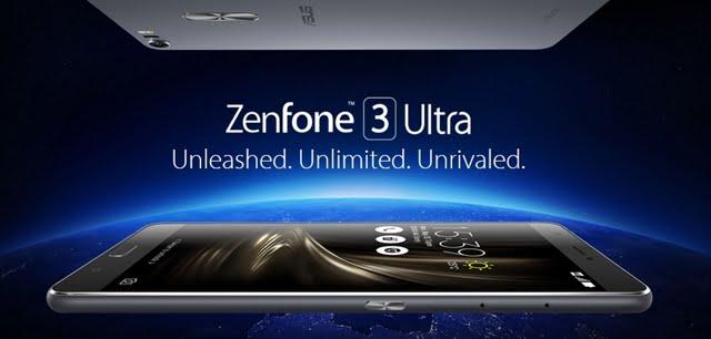 Zenfone 3 Ultra ZU680KL 本体画像