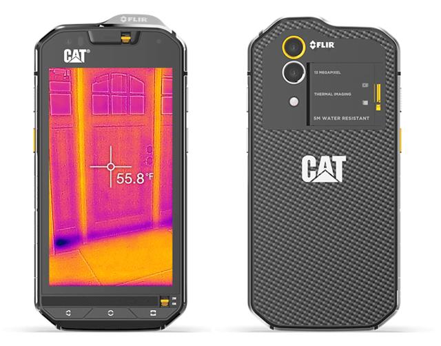 CAT S60本体裏表