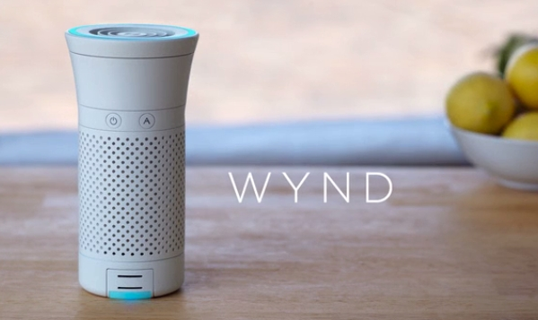 Wynd(ウィンド) iPhoneで操作できるポータブルスマート空気清浄機トップ画像