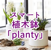 planty スマホで水やりを管理できるスマート植木鉢登場!