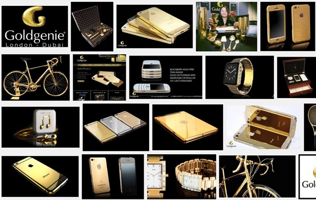 Goldgenie iPhone7を純金でデコレーションしてくれるサービスが予約スタート!