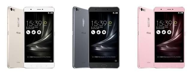 UQモバイル「ZenFone3 Ultra」本体カラー