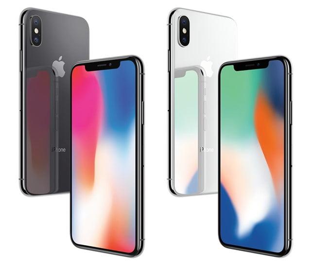 iPhoneX本体カラー