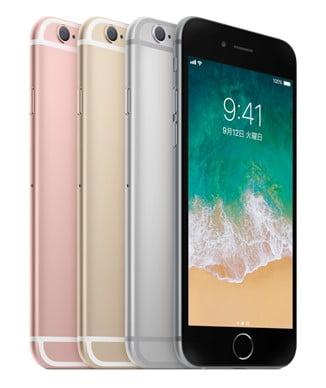 iphone6s本体カラー