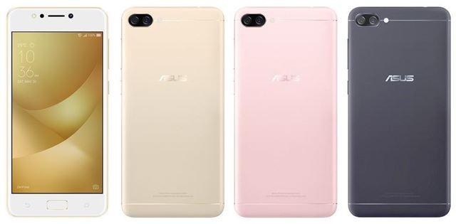 ZenFone4Maxの本体カラー3色