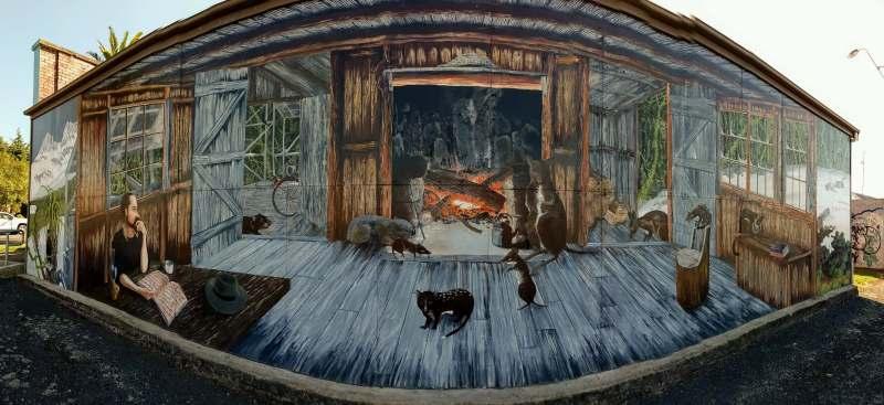 シェフィールドの壁画
