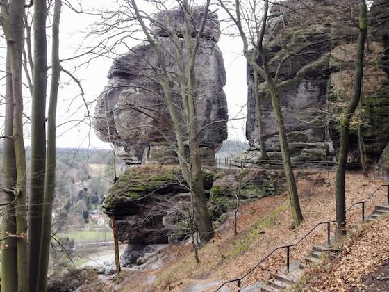 ザクセン・スイスの奇岩