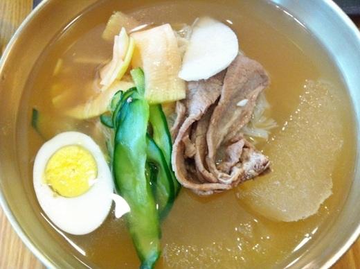 水冷麺(물냉면)