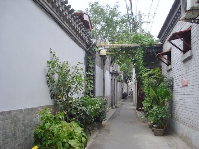 北京の胡同