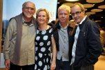 DSC_3927 Antonio Carlos da Fontoura , Rejane Zilles ,Cafi e Sergio Sbragia - Filme WALACHAI - Maio 2013 Foto CRISTINA GRANATO