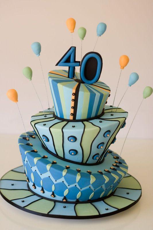 40th Birthday Cake Decorating Ideas Walah Walah