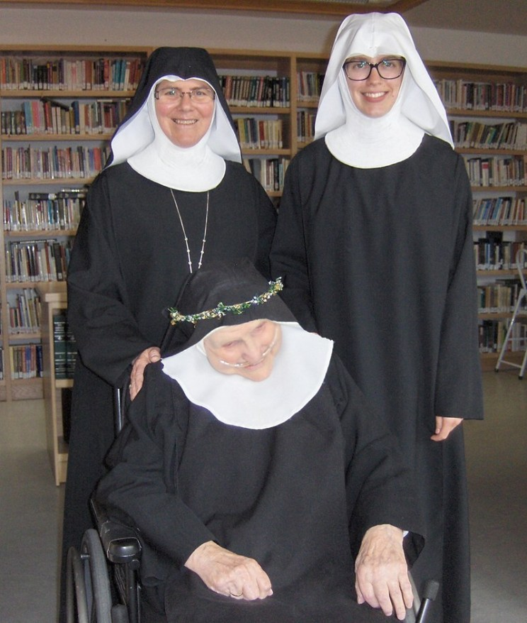 Mother Maria Michael, Sr. Anna and Sr Augustina
