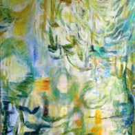 "spring Reflection 60"" x 40"""