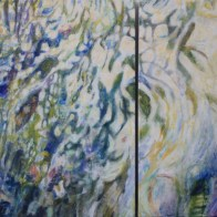Tide Pool diptych