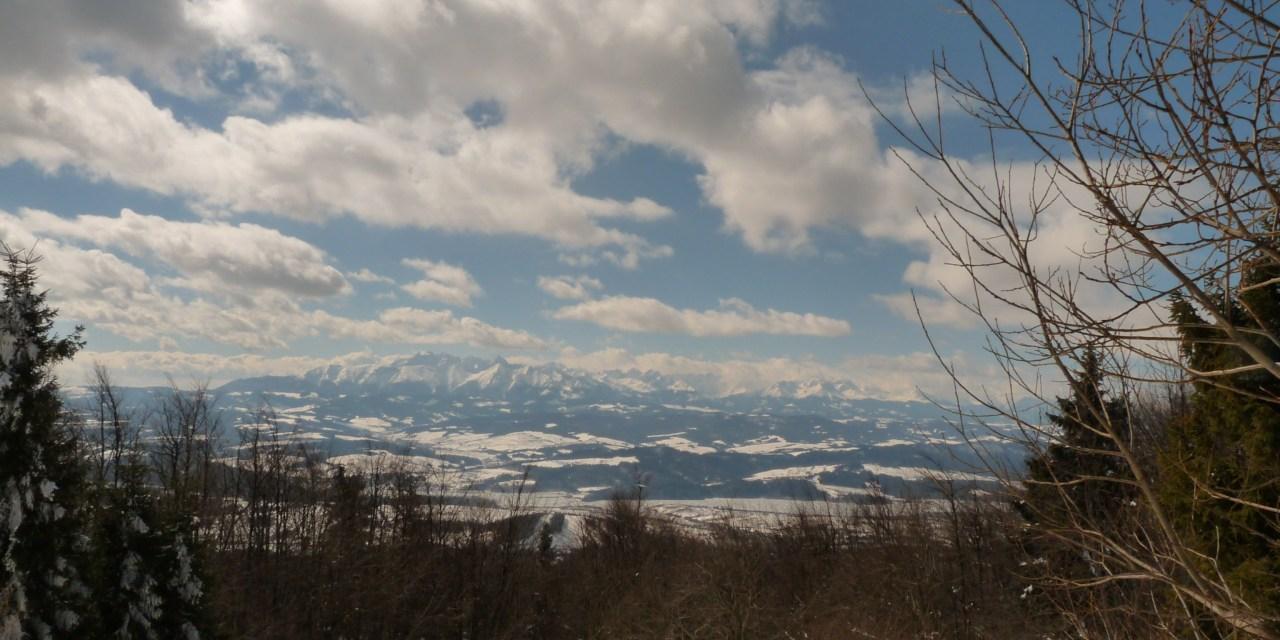 Szybki wypad na koniec zimy na LUBAŃ 1225 m [20.03.2013]