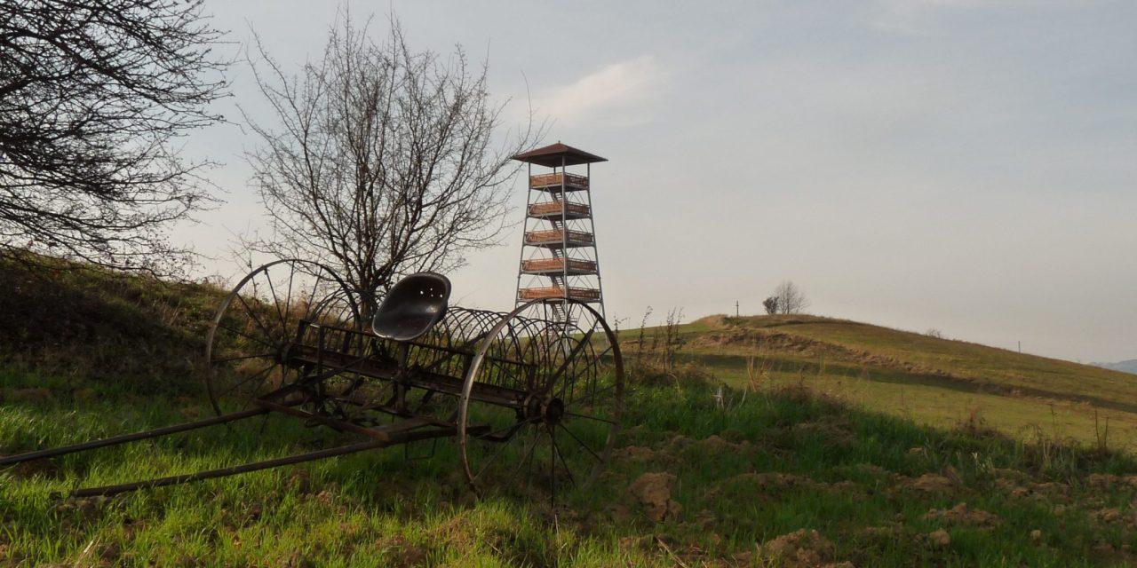 Wieża widokowa w Bruśniku – wzniesienie Styrki 420 m n.p.m.