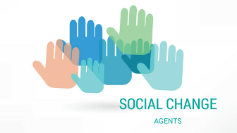Social Change image of hands