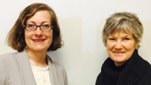 Dina Bergren and Denise Pranke