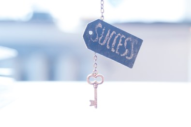 """key with word """"success"""""""