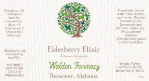 Elderberry Elixir