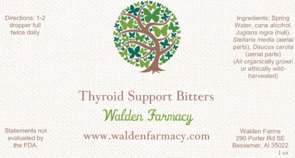 Thyroid Support Bitters