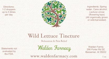 Wild Lettuce Tincture