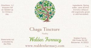 Chaga Tincture