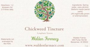 Chickweed Tincture