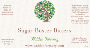 Sugar Buster Bitters