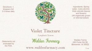 Violet Tincture