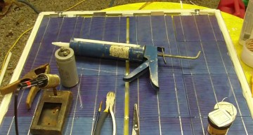 How to Get Cheap & Easy Off-Grid Power: DIY Solar Panel Video