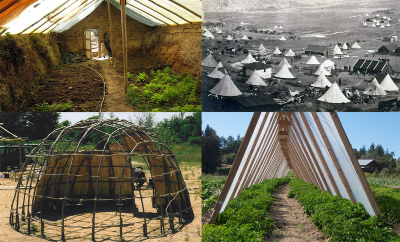 6 Cheap DIY Greenhouse Designs Inspired By Traditional Shelters   Walden  Labs