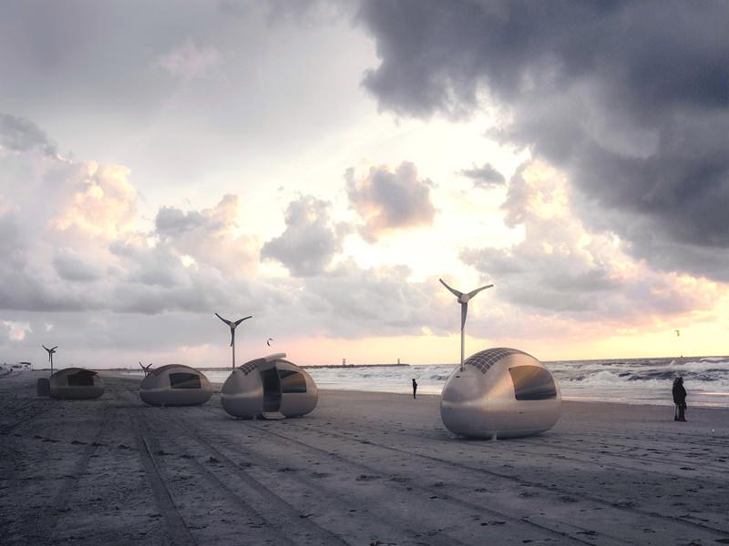 Ecocapsule Wind Turbine