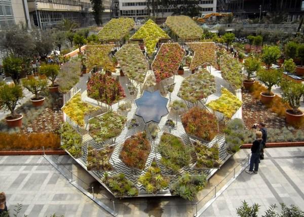 Jardin arabe Walden Paysage Institut monde arabe
