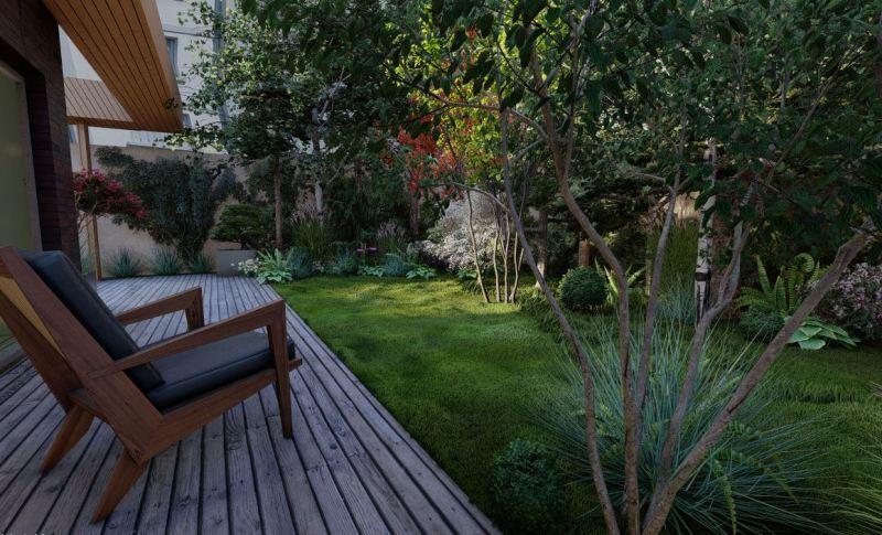 Walden Paysage Jardin Forêt