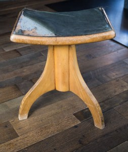 Waldfrieden State DIY Project Pendelton Stool