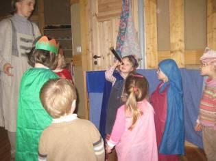 Heilige Drei Könige Kindergarten Foto