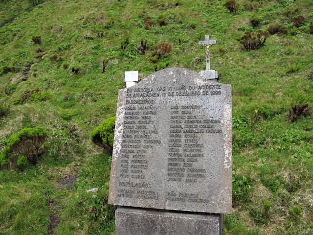 Gedenktafel Pico Morro Pelado | Waldspaziergang.org