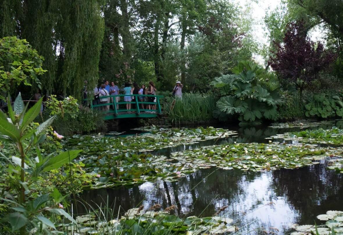 Der Seerosenteich von Monet. | waldspaziergang.org