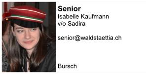 Senior: Sadira