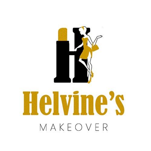 Helvine Makeover logo design