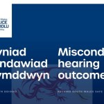 South Wales Police – misconduct hearing outcome