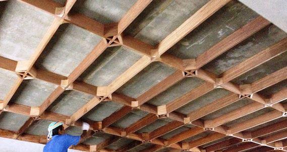 pemasangan nesting plank