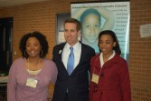 Beau Biden poses with Extension colleagues from Delaware State University in 2010