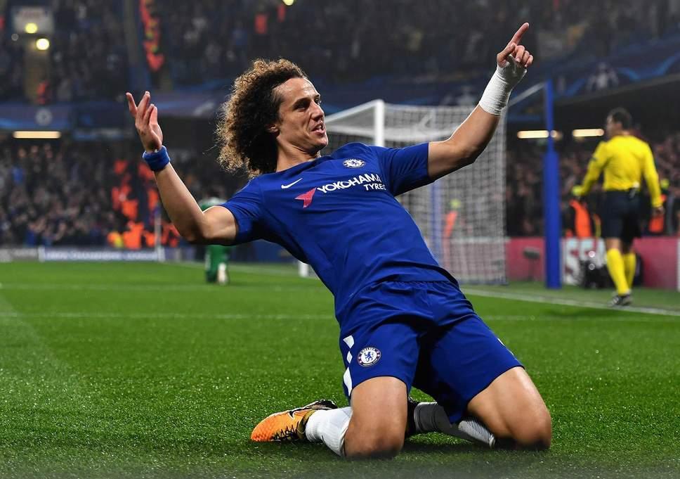 Penyerang David Luiz